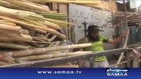 Sugar Cane Juice of Team Pakistan