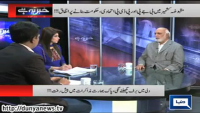 Khabar Ye Hai 25th Feb 2015 by Rauf Klasara, Saeed Qazi and Shazia Zeeshan on Wednesday at Dunya News