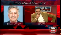 khawaja Asif Insults Arshad Sharif In Live Show
