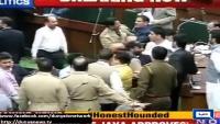 Govt Opposition Clashes In J&K Assembly