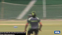 Pakistan Team Squad Training Continuous On Day Two For Bangladesh