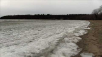 Ice Waves at North Beach