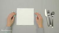 How To Make Triple Pocket Napkin Fold