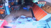 Nepal Quake Store CCTV Video