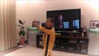 5 years Old Boy Performing Bruce Lee