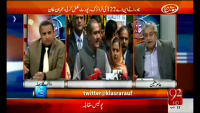 Muqabil 6th May 2015 by Rauf Klasra on Wednesday at 92 News HD