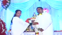 Extreme Happy Groom On His Wedding