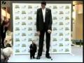 Smallest Man Meets Tallest Man