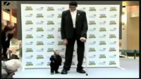 Smallest Man Meets Tallest Man
