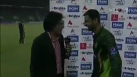 Ramiz Raja Jokes With Shoaib Malik