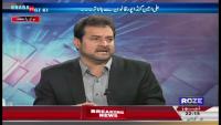 Khabar Roze Ki 1st June 2015 by Waheed Hussain on Monday at Roze News
