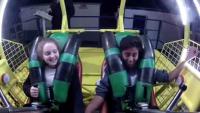 Boy Faints In Slingshot Ride