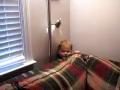 Little Kid Stuck behind Couch..Shoooo Cute