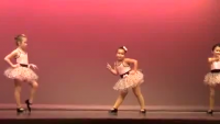Cute Dance Performance Of Little Girls