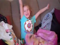 Priceless Reaction of a Kid on Birthday Surprise