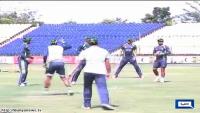 Pakistani Cricketers Introduces Pitho Gol Garam in Sri Lanka