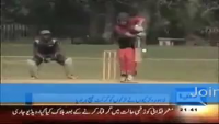 Girls beaten Boys in Cricket Match :P