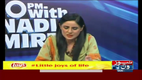 10PM With Nadia Mirza 19th August 2015