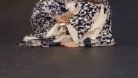 Reema Khan Shoes Heel Broken During Ramp Walk