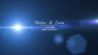 Babar Khan Sana Khan beautiful Wedding Video