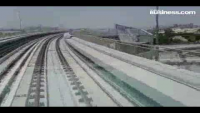 First video of trip on Dubai Metro