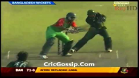 Shahid Afridi 5 Wickets Against Bangladesh Pakistan Vs Bangladesh 1st ODI 2011