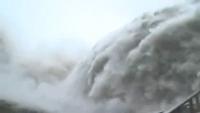 Flood in Taiwans Dam