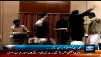 Shazia Marri and Government officer enjoying Dance in Hotel.