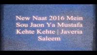 New Naat 2016 Mein Sou Jaon Ya Mustafa Kehte Kehte - Javeria Saleem