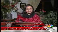 Even Anchors Started to Laugh on Marvi's Reply