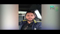 Shahid Afridi Message To His Fan For PSL 2017