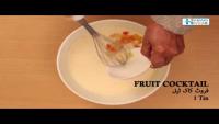 Fruit Cocktail Custard