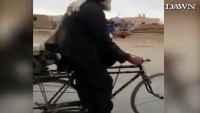 Watch This Man Motorized Bicycle