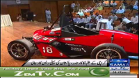 Racing Car made by NED university students