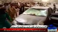 PTI leader Munawar Manj firing on Public Protest in Faisalabad