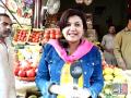 Sheikh Rasheed Buying Grocery From Market