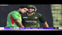 Masharfee Murtaza collision with Shahid Afridi. Should PCB also ask for 5-run penalty?
