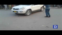 Traffic Warden & Dolphin Forces Attacking On Car
