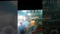 CCTV Footage Of Firing On Traffic Police At Gulshan Iqbal