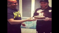 Surprise Celebrations For Shahid Afridi First Twenty20 Century Against Derbyshire