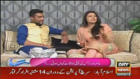 Reaction Of Muhammad Aamir When His Wife Starts Crying In Show