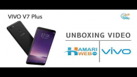 Vivo V7 Plus Unboxing, Hands On, Camera, Features