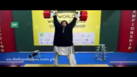 Khan Baba Stuns Audience At World Weightlifting Championship