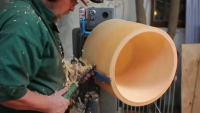 Making Of A Unique Wooden Lamp Shade
