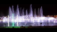 Dancing Fountains At Bahria Town Karachi On New Year Night