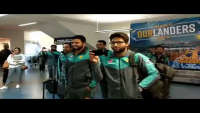 Pakistan Team Received A Maori Welcome At Dunedin International Airport