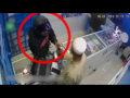 Robbery At Mobile Shop In Karachis Model Colony