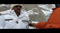 Interview of General Officer Commanding Siachen