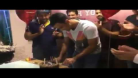 Fakhar Zaman's Birthday Celebration