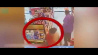 Family Filmed Shoplifting Grocery Items In Super Store